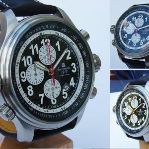 Aeromatic A1131 Pilot Defender Navigator Chronograph Watch