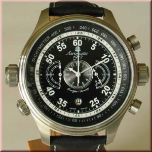 Aeromatic A1136 XXL Military Navigator Chronograph Watch