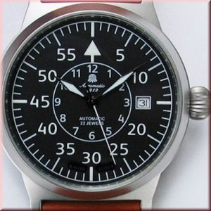 "Automatic A1143 Military Classic Observer ""Deutsche Flieger Legende"" Watch"