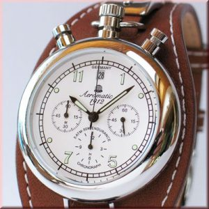 Aeromatic A1236 Aviator Chronograph Retro (brown) Watch