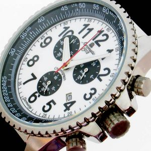 Aeromatic A1242 Military Navi Flight Computer Chronograph Watch