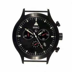MWC MIL-TEC MKVI PVD Military Pilots Chronograph (black case) Watch