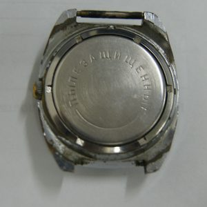 Сhajka silver shockproof dustproof watch