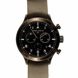 "MWC MTECIII/GM ""Titan"" Limited Edition Military Pilots Chronograph MIL-TEC III Watch"